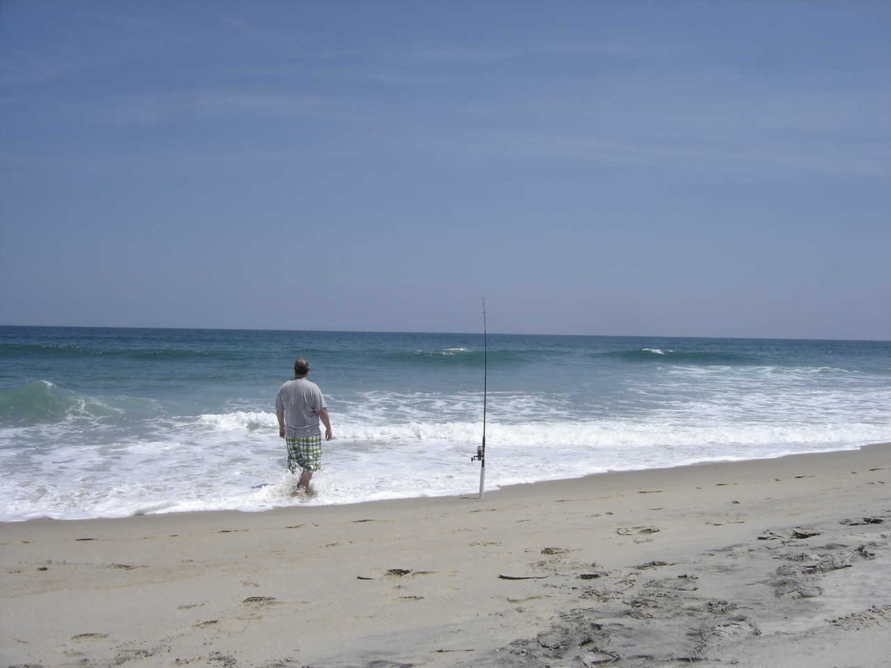 Shore fishing in obx hunt ducks hook fish for How to fish from the beach