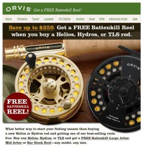 Orvis Reel Deal, Ends May 31st
