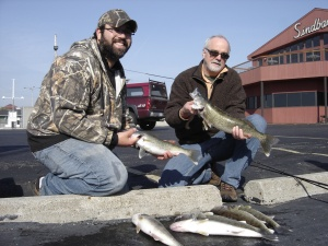 Me and Bob with 7 keepers caught on 4/30