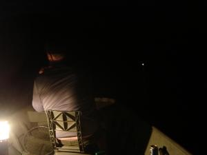 Catfish fishing at night