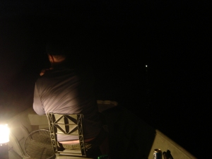 Catfish fishing at night