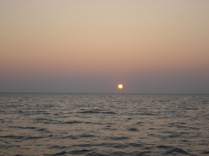 Sunrise on Lake St. Clair