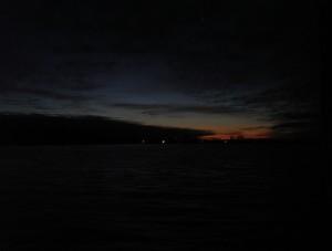 The last Saturday Sunrise