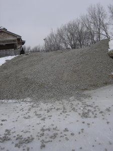 Gravel Ramp at Ginos