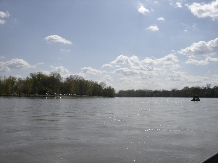 Maumee River in Ohio
