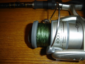 Shimano Reel and Sufix 832