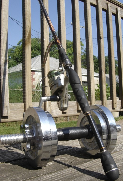 Strong spinning rod