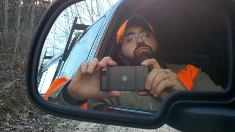 Sideview mirror view of myself