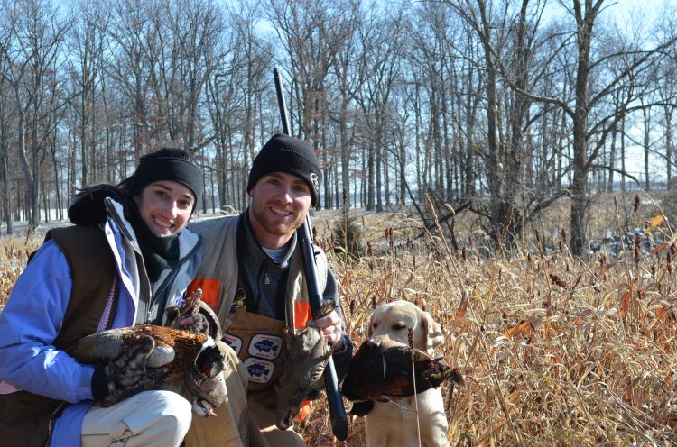 Some bird hunters