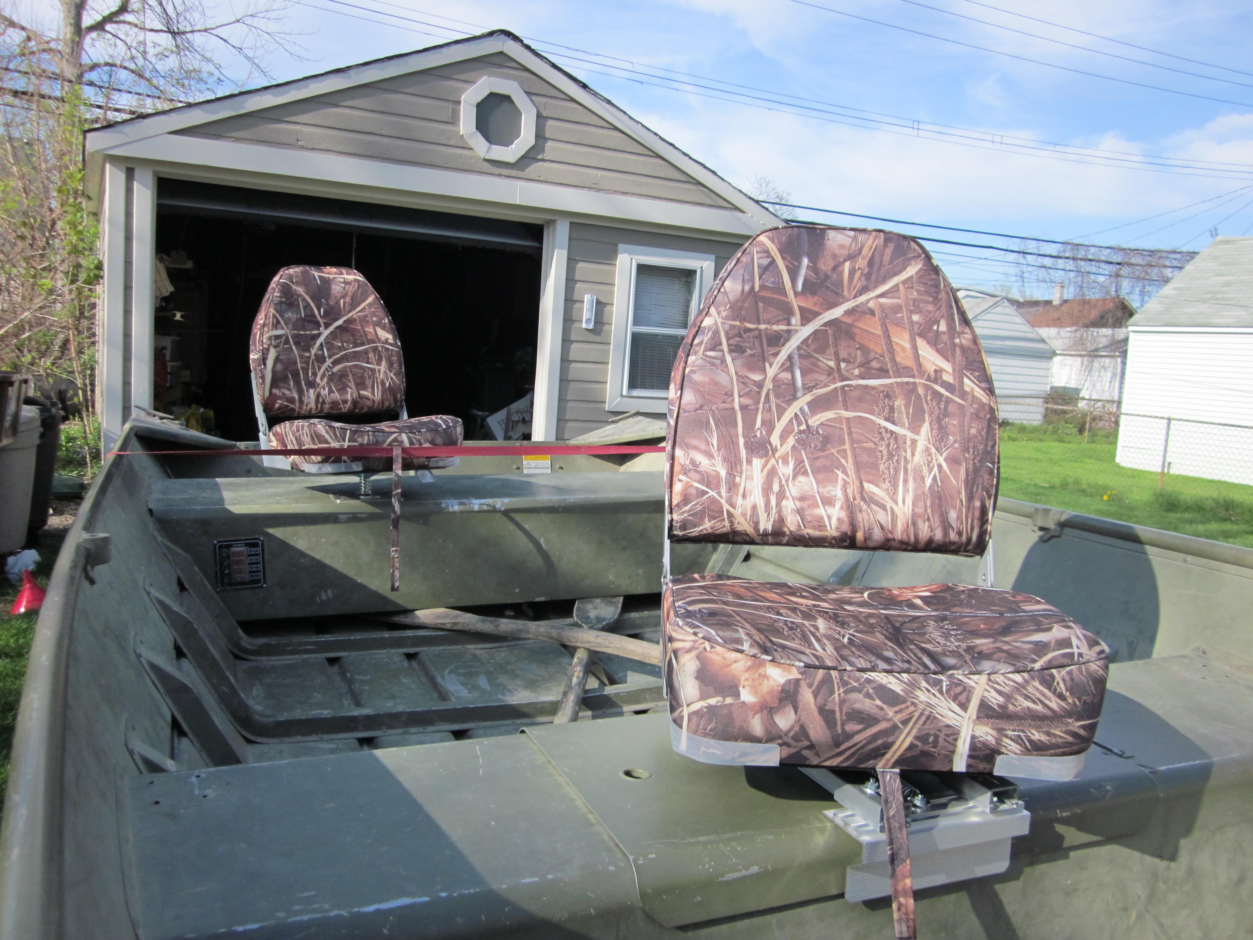 Boat Seats: Jon Boat Seats Camo