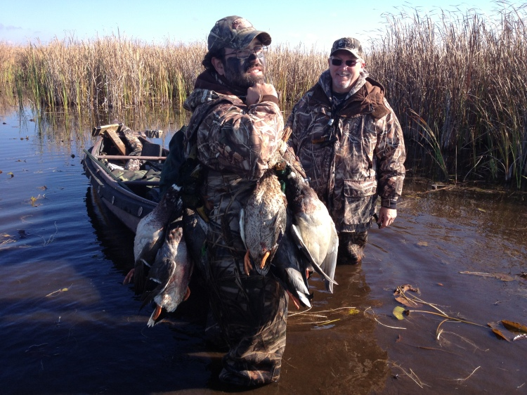 Morning Mallard Shoot with Mike