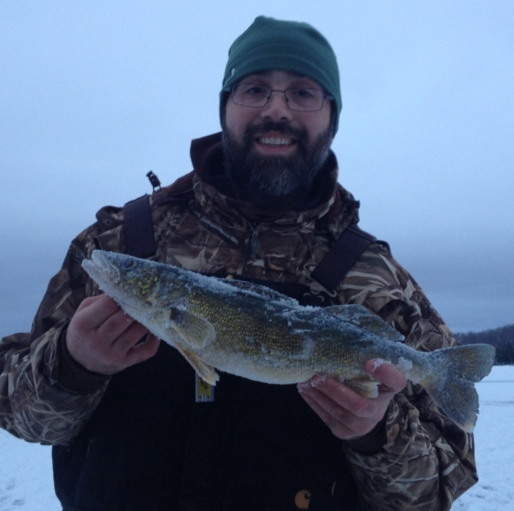 First Ice Walleye, 2012