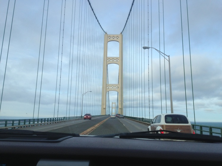 Crossing the Mackinaw Bridge