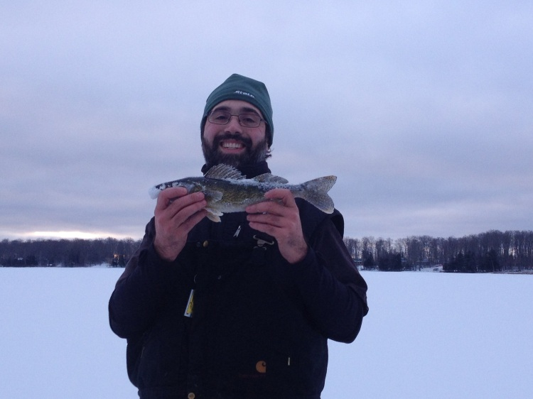My First UP Walleye